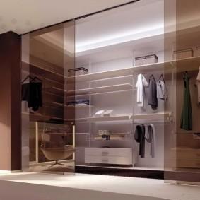 стеллажи для гардеробной комнаты варианты идеи