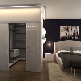 стеллажи для гардеробной комнаты виды дизайна