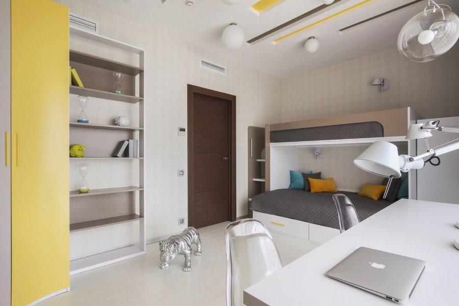 Меблировка детской комнаты в современном стиле