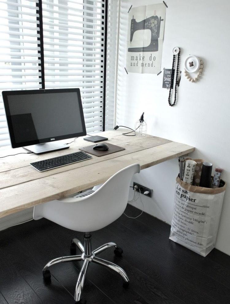 Стол-подоконник для рабочего места своими руками
