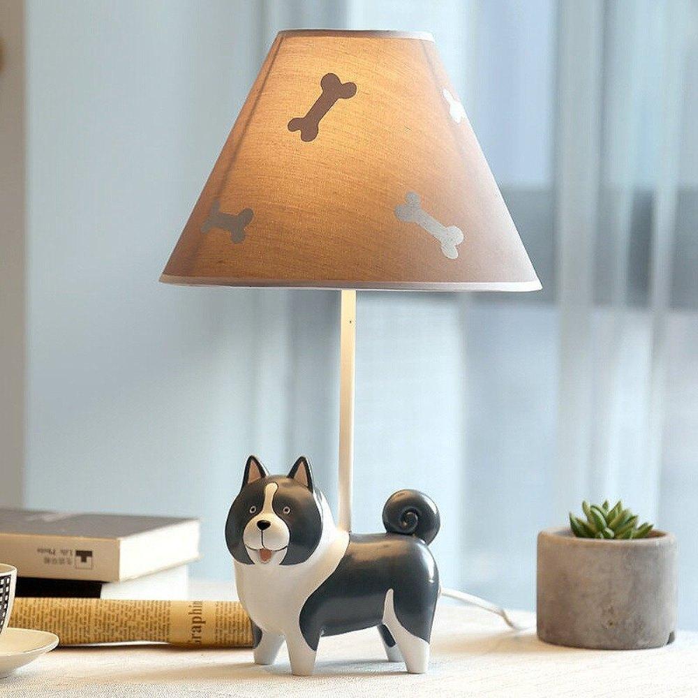 светильник собака