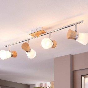 светильники в детской дизайн фото