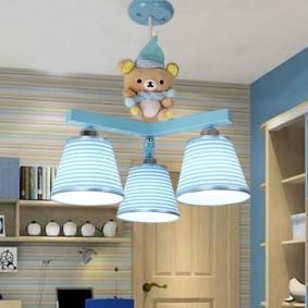 светильники в детской фото дизайн