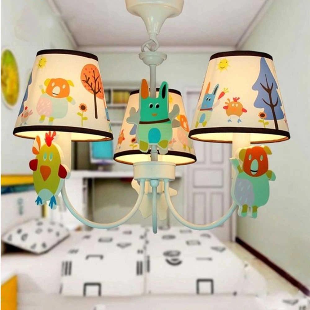 крючковые светильники в детской