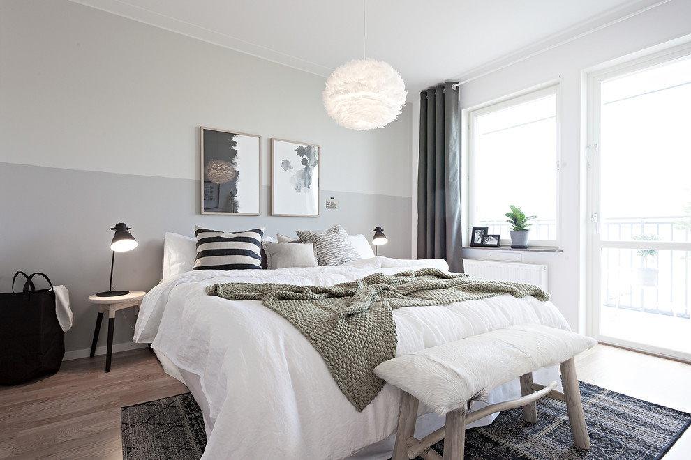 Прикроватные светильники для спальни скандинавского стиля