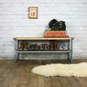 тумба для обуви с сиденьем фото виды