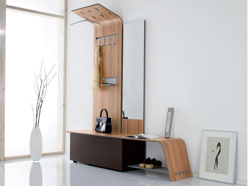 тумба с зеркалом в прихожей фото дизайна