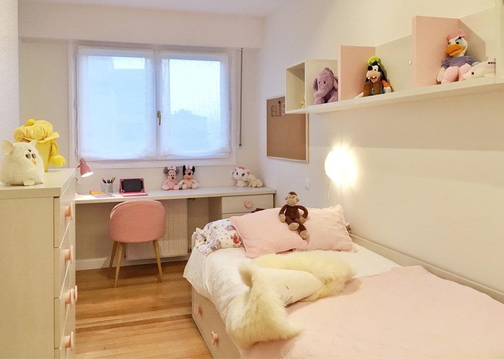 Маленькая комната для девочки дошкольного возраста
