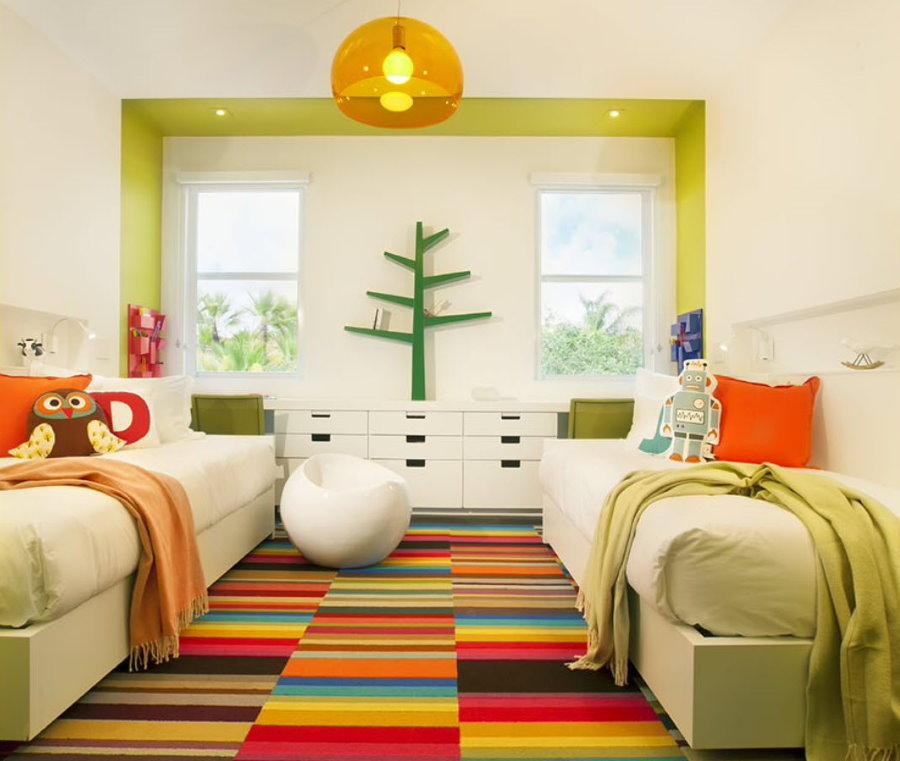 Комната для двоих детей школьного возраста