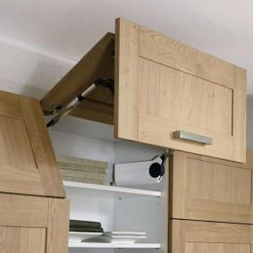 Ящик с подъемной дверцей для кухонной мебели