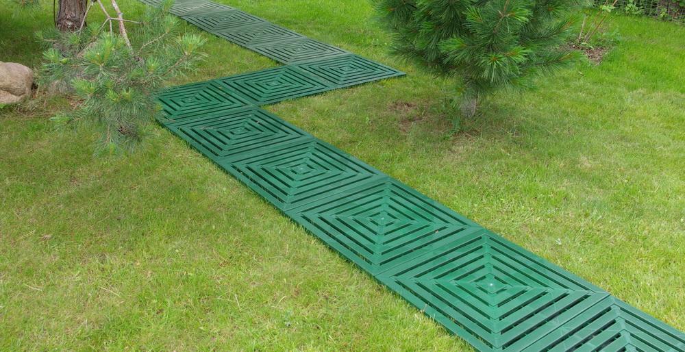 модульные дорожки в саду