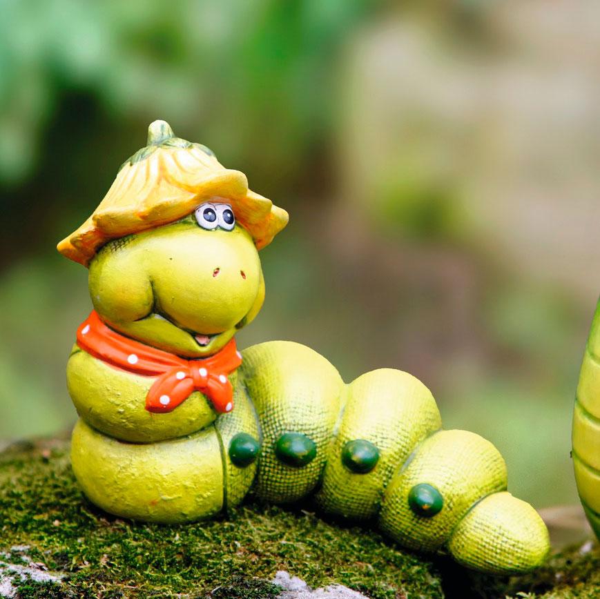 фигуры для сада из глины