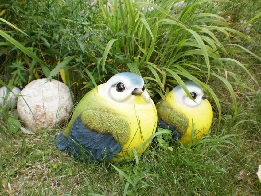 фигурки для сада птицы