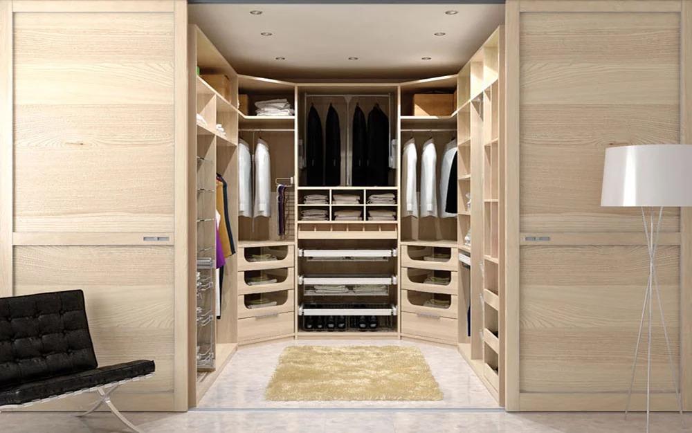 кладовка гардеробная в спальне