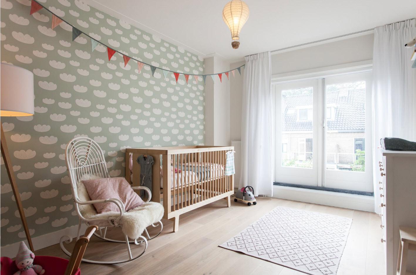 комната для новорожденного малыша