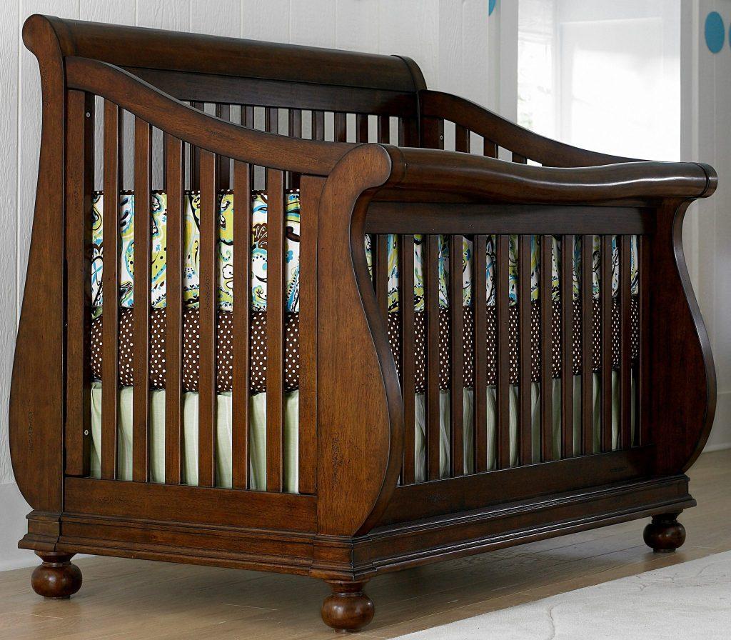 детская кроватка в стиле модерн
