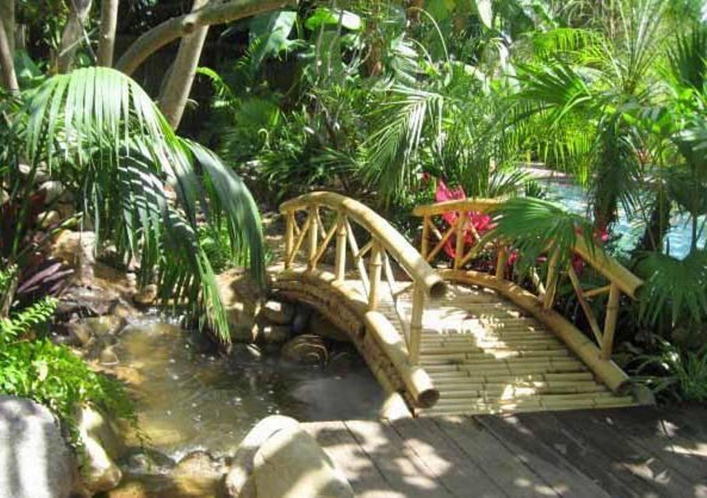 бамбуковый мостик
