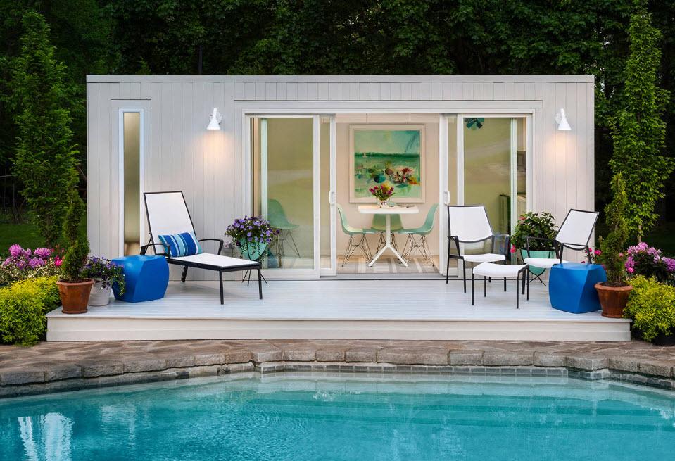 бассейн для дачи фото дизайна