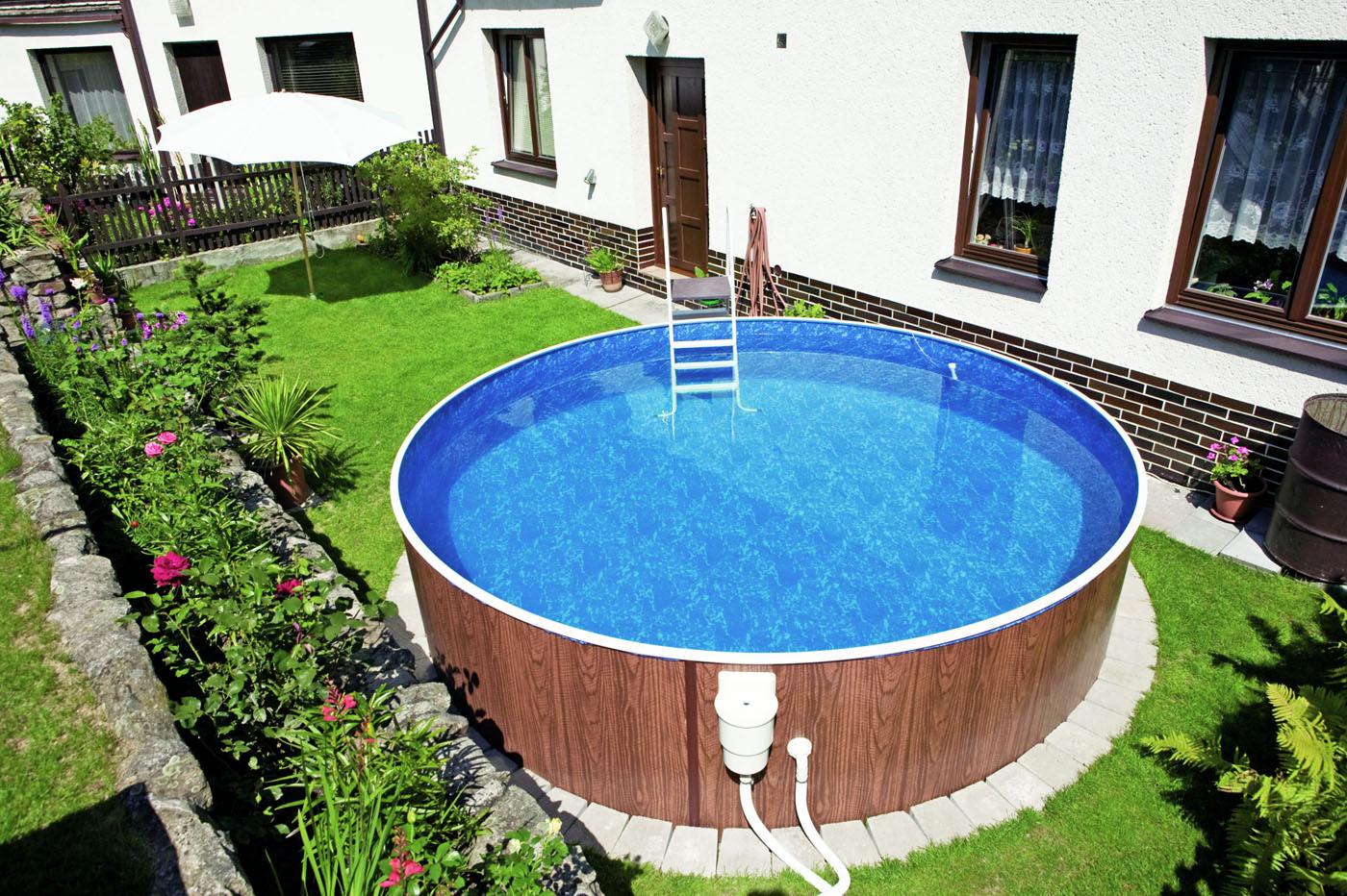бассейн для дачи каркасный