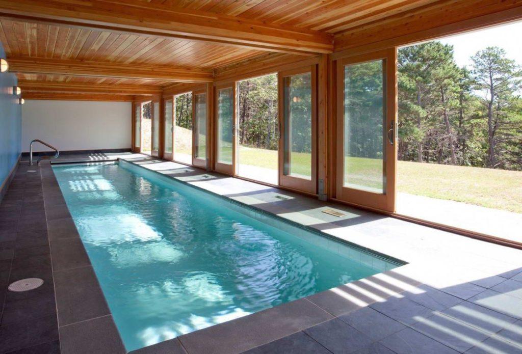 крытый бассейн для дачи фото