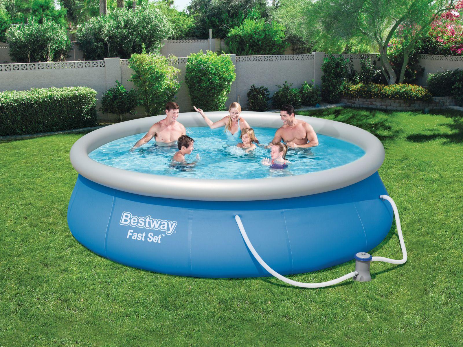 бассейн для дачи надувной