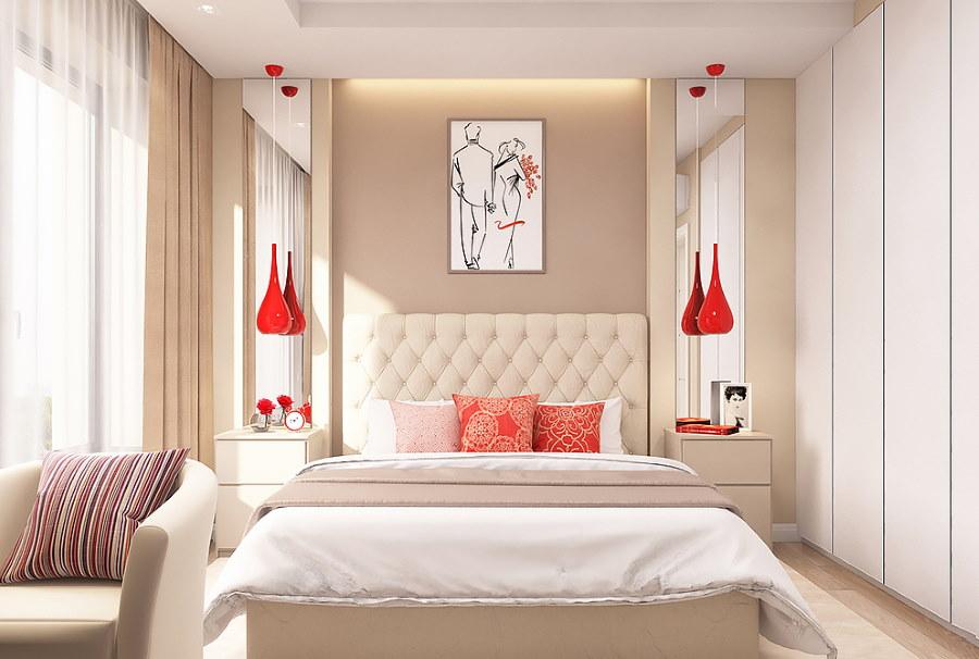 Спальная комната для супругов согласно фен-шуй