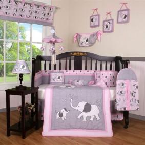 комната для новорожденного фото интерьера