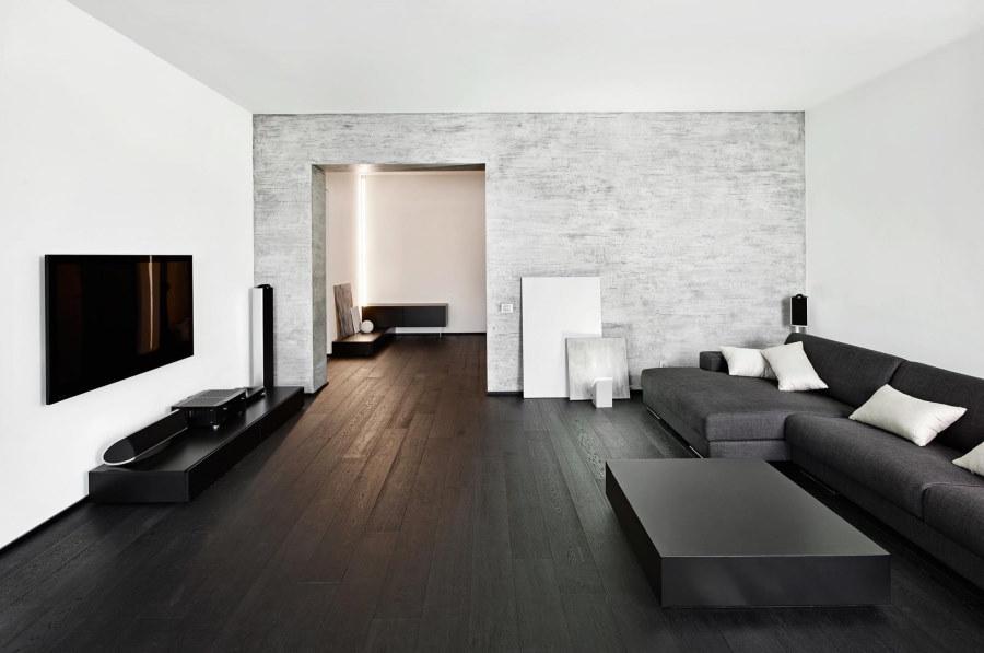 Использование черно-белого оформления в минимализме