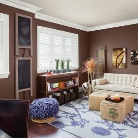 цветовая гамма для гостиной фото