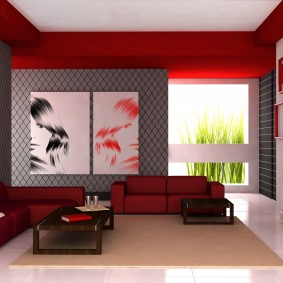 цветовая гамма для гостиной декор