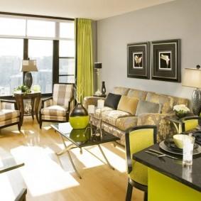 цветовая гамма для гостиной декор фото