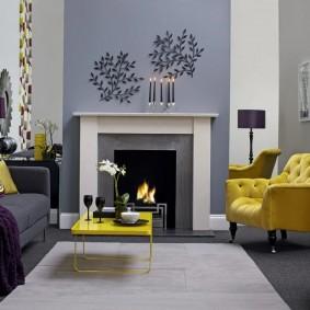 цветовая гамма для гостиной декор идеи
