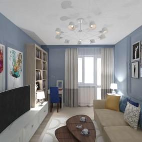цветовая гамма для гостиной фото интерьера