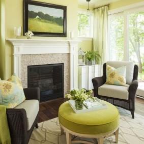 цветовая гамма для гостиной оформление