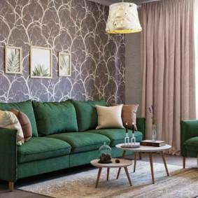 цветовая гамма для гостиной фото оформление