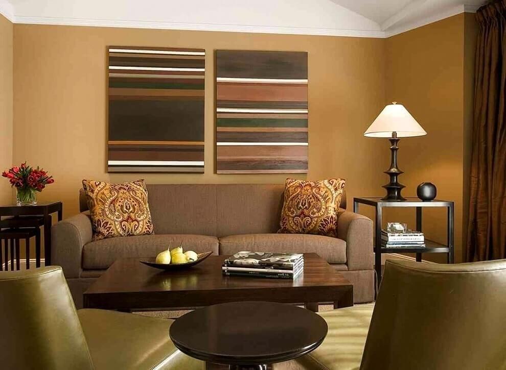 вешать цвета стен для гостиной фото взаимодействию