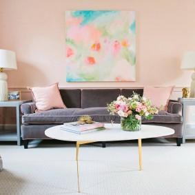 цветовая гамма для гостиной оформление идеи