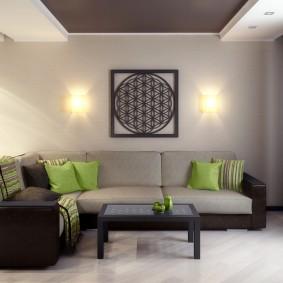 цветовая гамма для гостиной идеи оформление