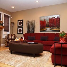 цветовая гамма для гостиной фото вариантов