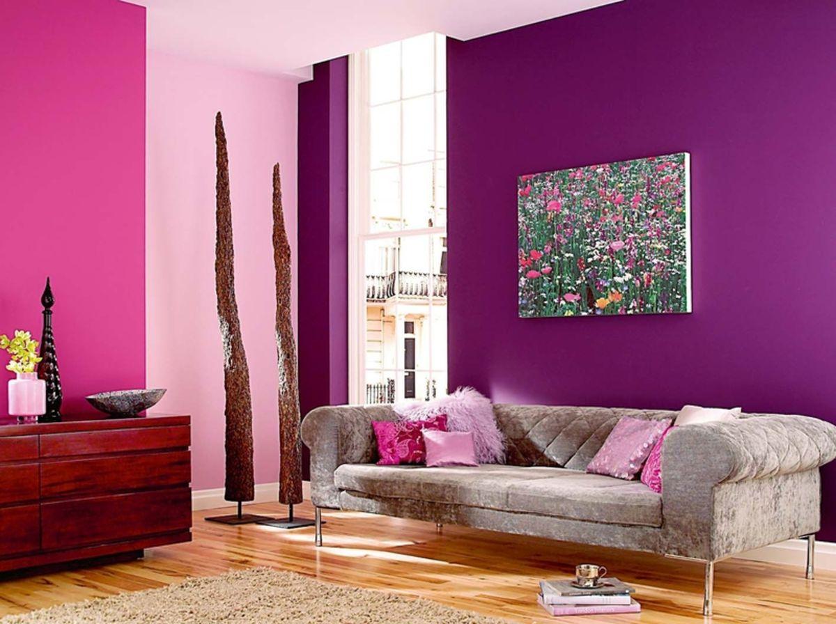 Каким цветом покрасить стены в гостиной фото