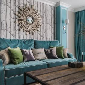 цветовая гамма для гостиной фото дизайна