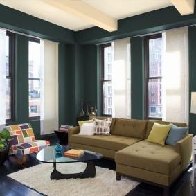 цветовая гамма для гостиной дизайн идеи