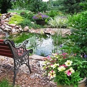 дачные скамейки для сада