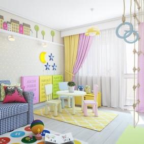 декор детской комнаты оформление