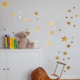 декор детской комнаты фото оформление