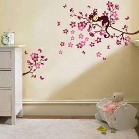 декор детской комнаты идеи оформление