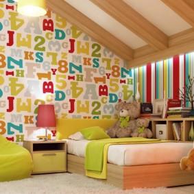 декор детской комнаты интерьер