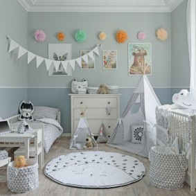 декор детской комнаты идеи