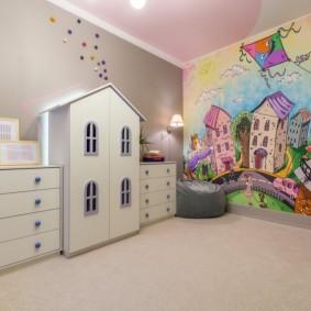 декор детской комнаты интерьер фото