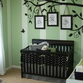 декор детской комнаты фото интерьер